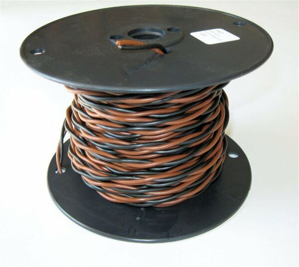 Heavy Duty Solid Core Electric Dog Fence Twisted Wire 20 14 Gauge 100#x27; HDPE Coat $24.95