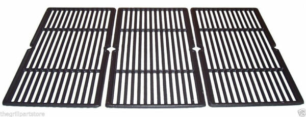 Charbroil Gas Grill Cast Coated Set Cooking Grates 30quot; x 18 1 8quot; 65993