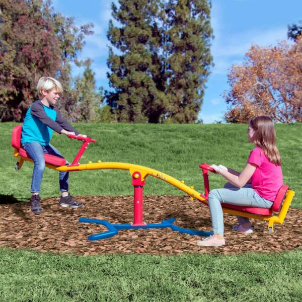 Gym Dandy 360 Spinning Teeter Totter TT-360 Kids Backyard / Outdoor See Saw toy