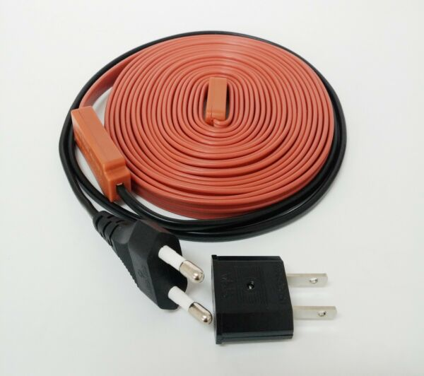 Electric Heating Cable Flexible Water Pipe Freeze Proof Heated Tape PICK SIZE