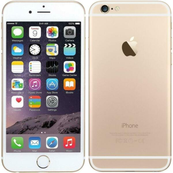 Apple iPhone 6 - 64GB - Gold (Factory GSM Unlocked; AT&T / T-Mobile) Smartphone