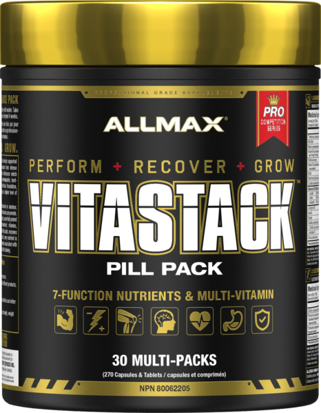 ALLMAX Nutrition VITASTACK 30 Packs (Brand New & Sealed!)Multi-Vitamin