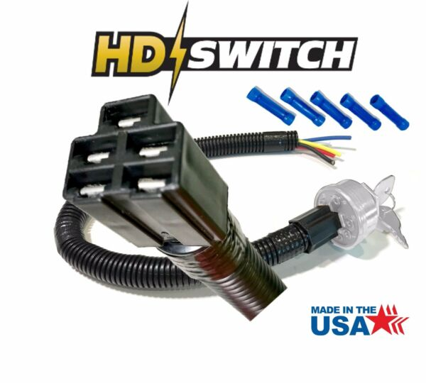 Lawn & Garden Tractor Wire Harness For Ignition Switch -Standard 5 Pin Connector