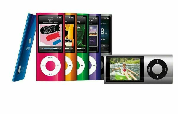Apple iPod Nano 5th Generation 8GB amp; 16GB Used Tested All Colors