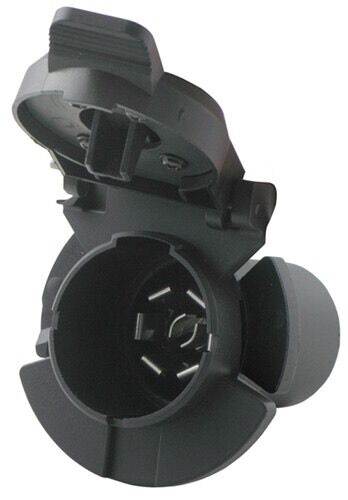 POLLAK TWIST IN 7 POLE RV STYLE TRAILER CONNECTOR FOR CHEVY amp; GMC VEHICLES