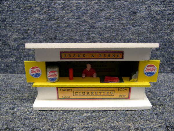 Repro American Flyer Frank & Bean Stand $29.99