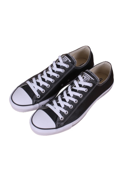 CHUCK TAYLOR ALL STAR LOW CORE BLACK LEATHER 132174C MEN CONVERSE