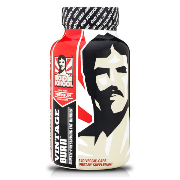 Thermogenic Fat Burner VINTAGE BURN Guaranteed Weight Loss Supplement (3 Pack)