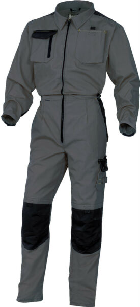 Delta Plus Panoply M5COM Mach Spirit Grey Mens Work Overalls Coverall Boilersuit