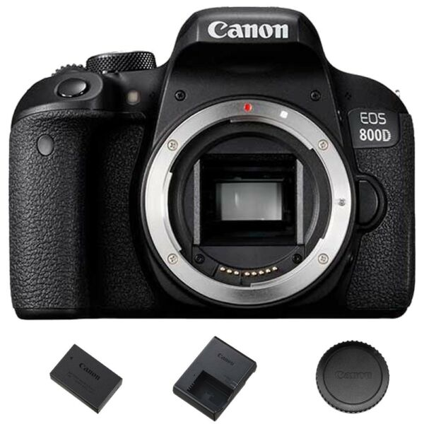 Canon EOS Rebel T7i  800D DSLR Camera (Body Only) Brand New