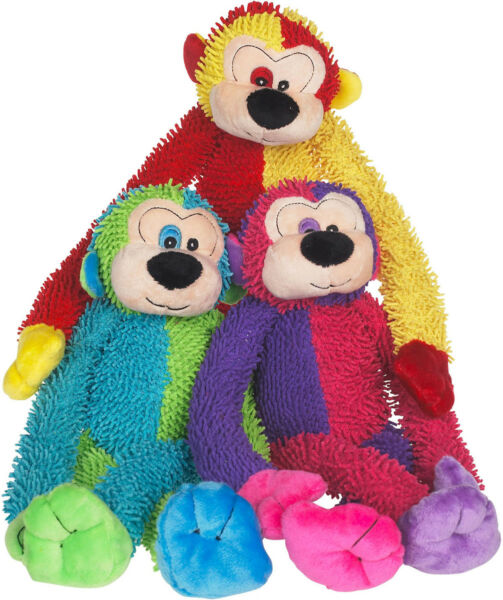 Multipet Crew Monkey Plush Toy colors vary- Free Shipping $9.95
