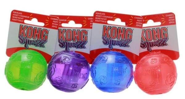 KONG Squeezz Ball  Color vary  FREE SHIPPING