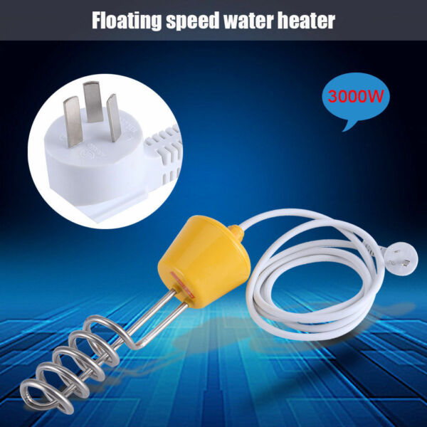 Hot Water Heater Immersion Element Boiler For Bath Inflatable Swimming Pool LJ