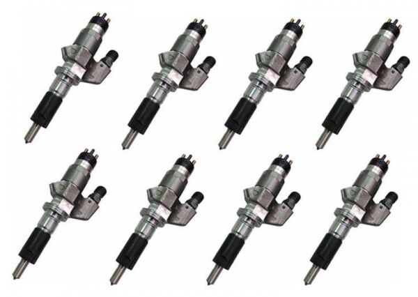 Exergy Performance New 100%Over Stock Injector Set For Duramax LMM 2007.5-2010