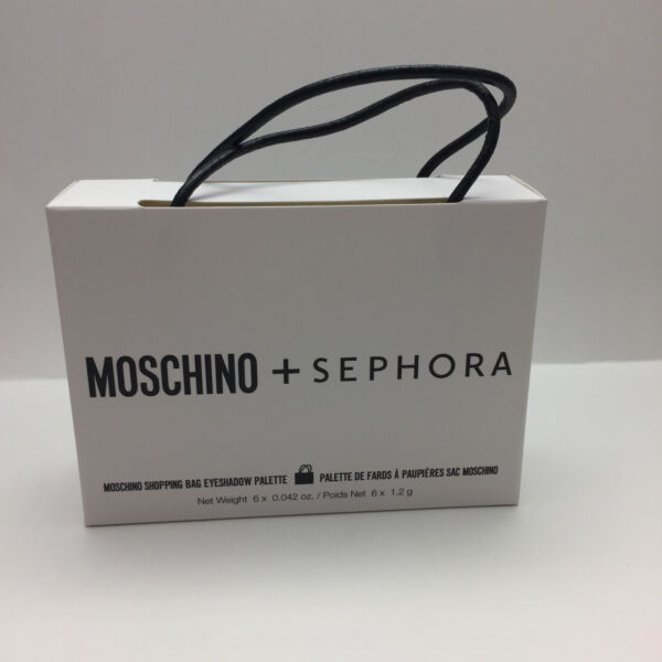 MOSCHINO SEPHORA SHOPPING BAG EYESHADOW PALETTE BRAND NEW IN BOX AUTHENTIC $31.05