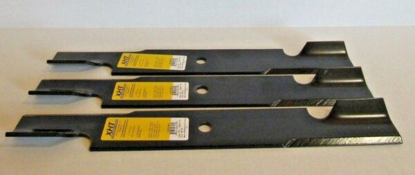 3 XHT HD USA BLADES FOR GRAVELY ARIENS 36 & 52