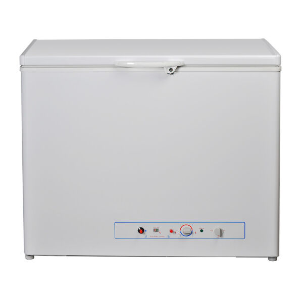 5.8 cu ft Propane Freezer Low Noise AC LP Gas Chest Freezer Camp Yard Cottage