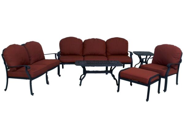 CATALINA COLLECTION LOVESEAT SOFA CLUB CHAIR OTTOMAN COFFEE TABLE END TABLE
