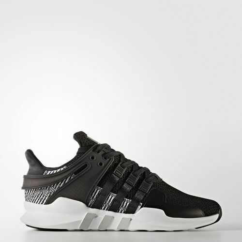 NEW MEN'S ADIDAS ORIGINALS EQT SUPPORT ADV SHOES  [BY9585]  BLACK//BLACK-WHITE