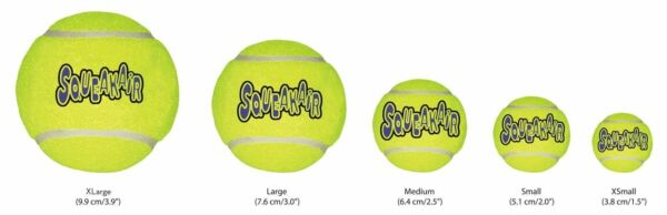 KONG SqueakAir Balls Size from Xsmall to Xlarge Free shipping