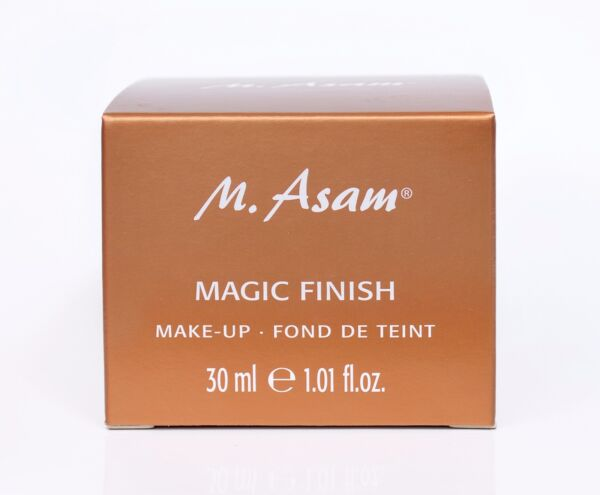 M. Asam Magic Finish MAKE-UP MOUSSE 30ml. Conceal redness dark spots circles