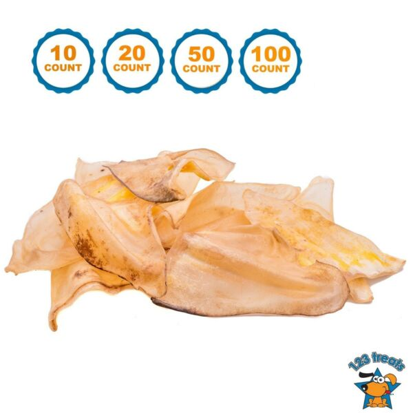 Cow Ears for Dogs 100% Natural Dog Chews Beef Ear one ingredient Treats for Dogs $19.99