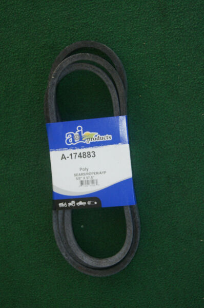 Replacement for 174883 Husqvarna AYP & Craftsman Mowing Deck Belt