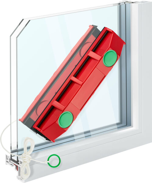 Magnetic Window Cleaner Double Side Glass Wiper - The Original Glider