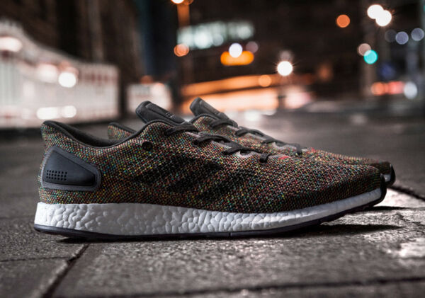 NEW MENS ADIDAS PURE BOOST DPR LTD RAINBOW SNEAKERS CG2993-SHOES-MULTIPLE SIZES
