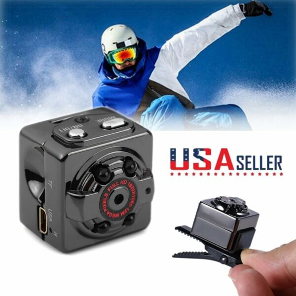 Mini FHD 1080P DV Sport Action Camera Car DVR Video Recorder Camcorder Cam US