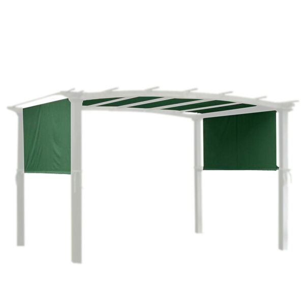 17x6.5Ft Pergola Canopy Replacement Cover Outdoor Yard Patio Green UV20 180g