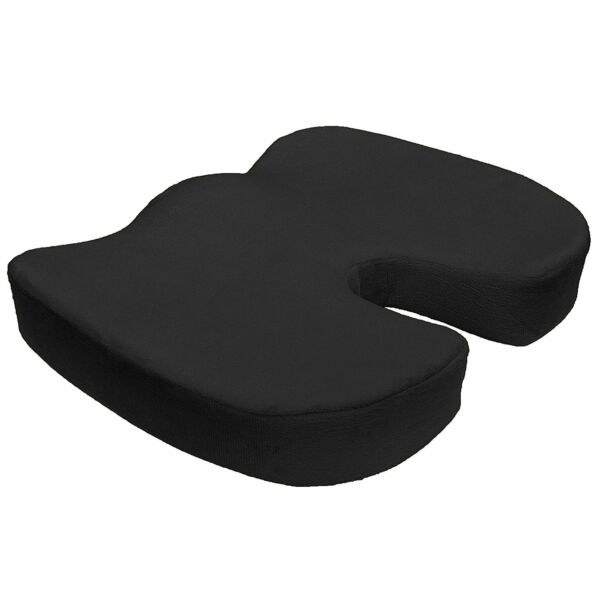 Memory Foam Coccyx Orthopedic Large Seat Office Chair Cushion Pain Relief Pillow $17.99