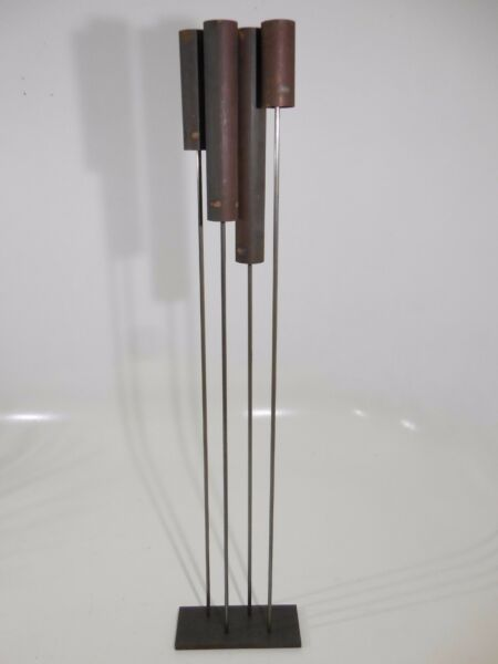 Mid Century ModernBertoia Inspired Copper Sonambient Sound Sculpture by HUDA