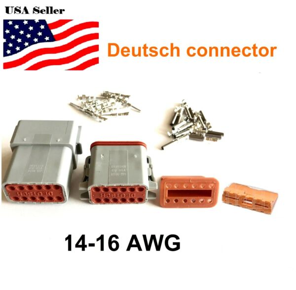 12-Pin Deutsch DT06/DT04 Engine Gearbox waterproof electrical connector