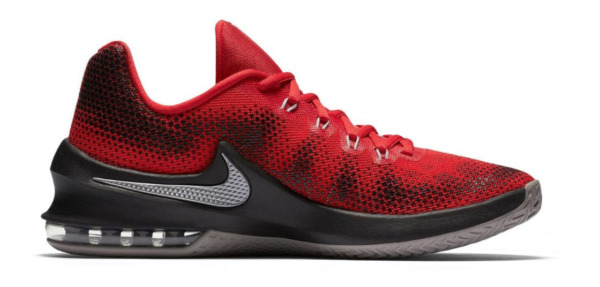 Nike Air Max Infuriate Low Men's Basketball Shoes red /Black 852457 New in box