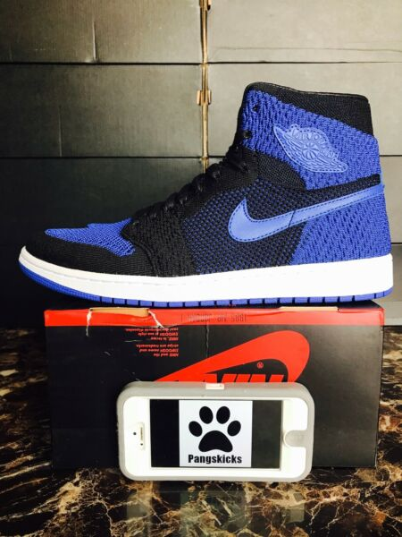 Nike Air Jordan 1 Retro High OG Flyknit 'Royal' Blue 919704-006 Size 10-14