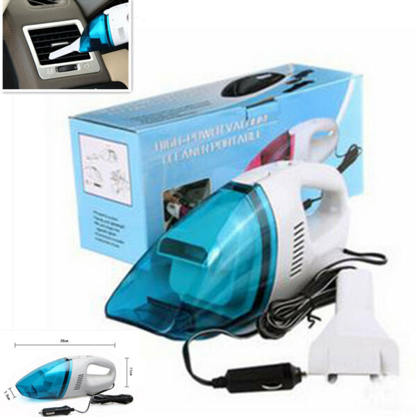 12V 60W Portable Vehicle Car Truck Vacuum Cleaner For Wet & Dry Usages Universal