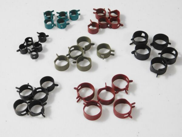 35 pcs 7 sizes FORD Cars & Trucks Fuel Vacuum Transmission Hose Spring Clamps