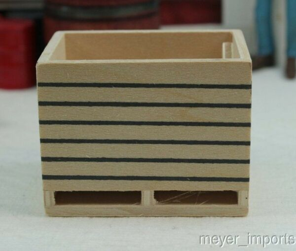 Wooden Crates Set of 2 Europe Import Great for Freight Depots 106 0611
