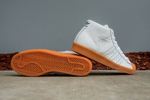NEW MENS ADIDAS PRO MODEL 80S DLX SNEAKERS S75841-SHOES-SIZE 8,9