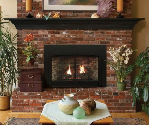 Empire Innsbrook Small Direct-Vent Clean Face IP Fireplace Insert - NG