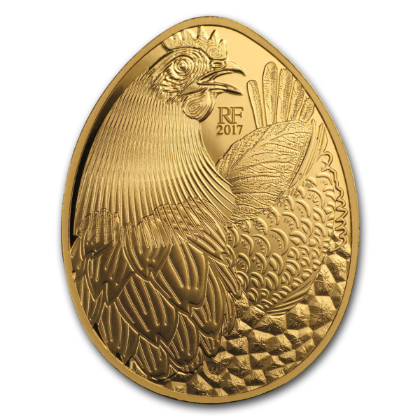 2017 1 oz Proof Gold €200 Excellence Series (Guy Savoy) - SKU#156090