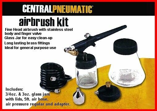 New Air Brush Kit Touch Up Leather Couches and More
