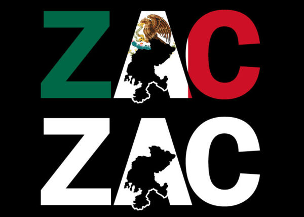 Zacatecas letters Decal Car Window Laptop Map Vinyl Sticker Mexico Zacatecas