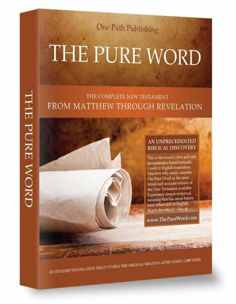 The Pure Word Paperback by One Path Publishing LLC (2017, Paperback)