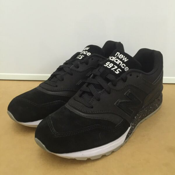 Rare! NEW BALANCE 997.5 Suede Speckled Black  Classic Sneakers(ML997HBA) SZ US 7