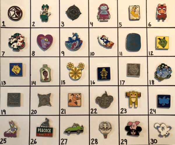 Rare Disney Hidden Mickey Pins- Choose 3 For $19.99!! Excellent Condition!!! HTF