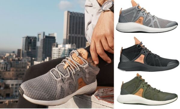 Timberland NEW Men#x27;s Flyroam Go Chukka Sports Sneaker Boots Casual Shoes $83.97