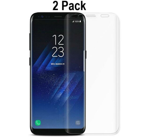 2x FULL COVER Soft PET Screen Protector Film For Samsung Galaxy S9 S9 Plus $3.99