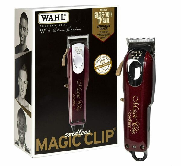 Wahl 5 Star Cordless Magic Clip - Brand New Just In! $129.95